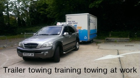 Towing at work
